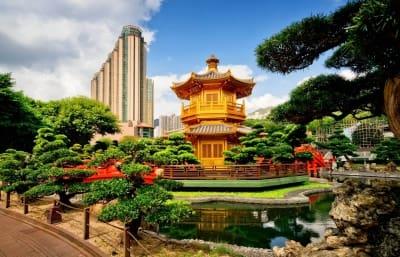 Китай красивая древняя пагода