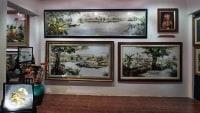 Вьетнамские картины вышитые шелком