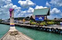 Плавучий ресторан в Таиланде