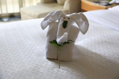Творчество горничных в гостинице н Хайнане