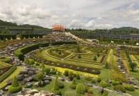 Тропический сад Nong Nuch в Таиланде