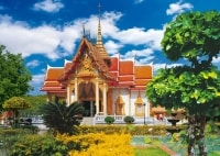 Храм Ват Чалонг (Wat Chalong) на Пхукете