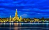 Храм В Таиланде Ночью